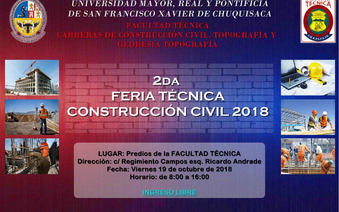 2da FERIA DE LA CONSTRUCCION